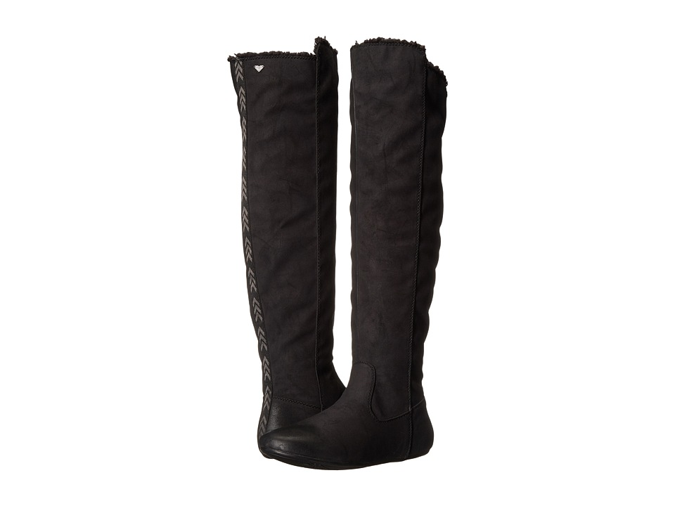 Roxy - Shawnee Boot (Black) Women's Pull-on Boots