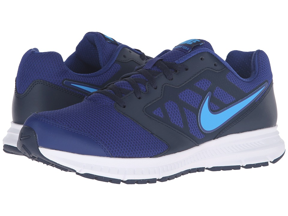 Nike - Downshifter 6 (Deep Royal Blue/Blue Glow/Obsidan/White) Men's Running Shoes