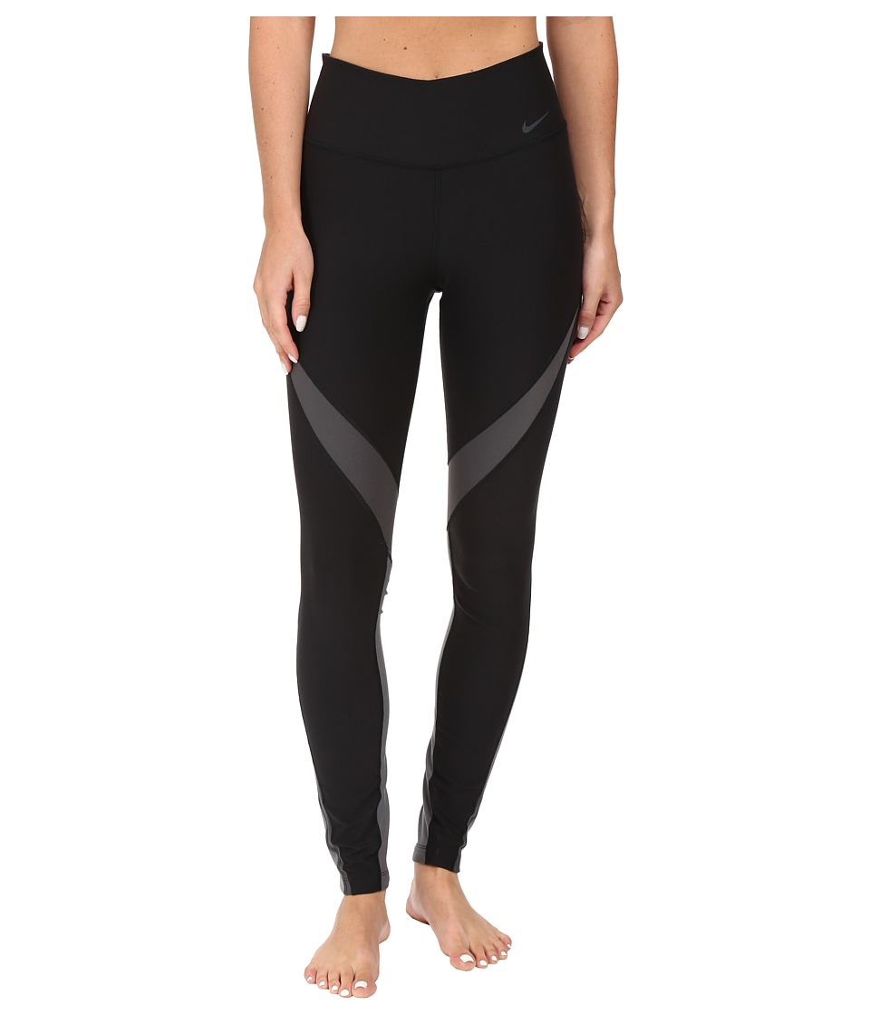 Nike - Power Legend Twist Training Tight (Black/Anthracite/Dark Grey/Black) Women's Workout