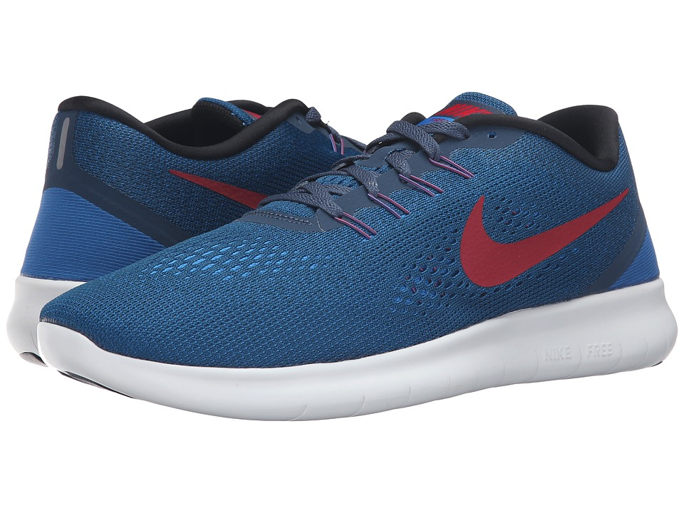Nike - Free RN (Squadron Blue/Gym Red/Blue Spark/Black) Men's Running Shoes