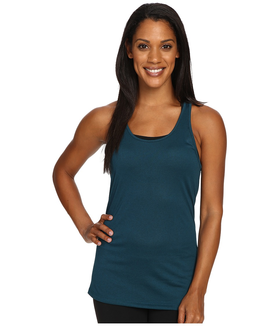 Nike - Dri-FIT Balance Tank Top (Midnight Turquoise/Midnight Turquoise) Women's Sleeveless