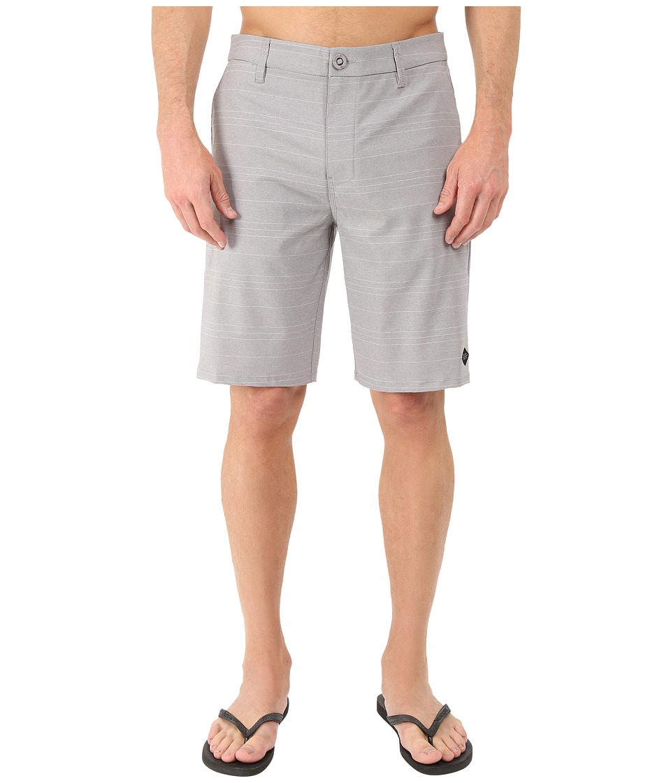 Rip Curl - Channel Boardwalk (Grey) Men's Shorts