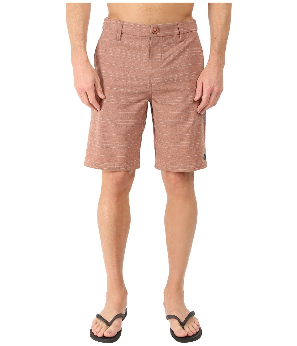 Rip Curl - Channel Boardwalk (Rust) Men's Shorts