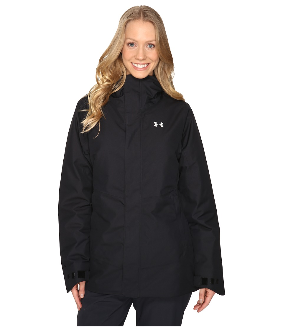 Under Armour - UA CGI Powerline Ins Jacket (Black/Glacier Gray) Women's Coat