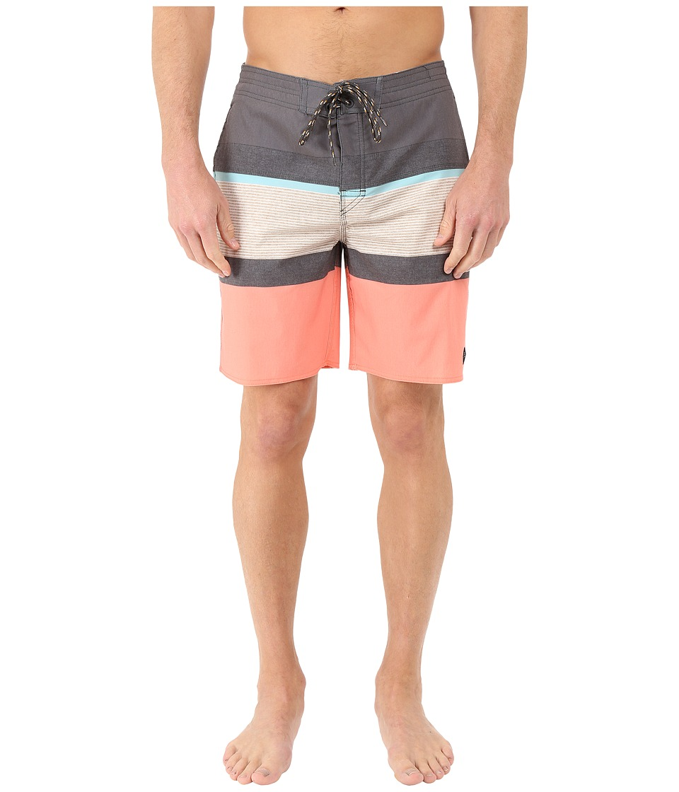 Rip Curl - Rapture Stripe Boardshorts (Khaki) Men's Swimwear