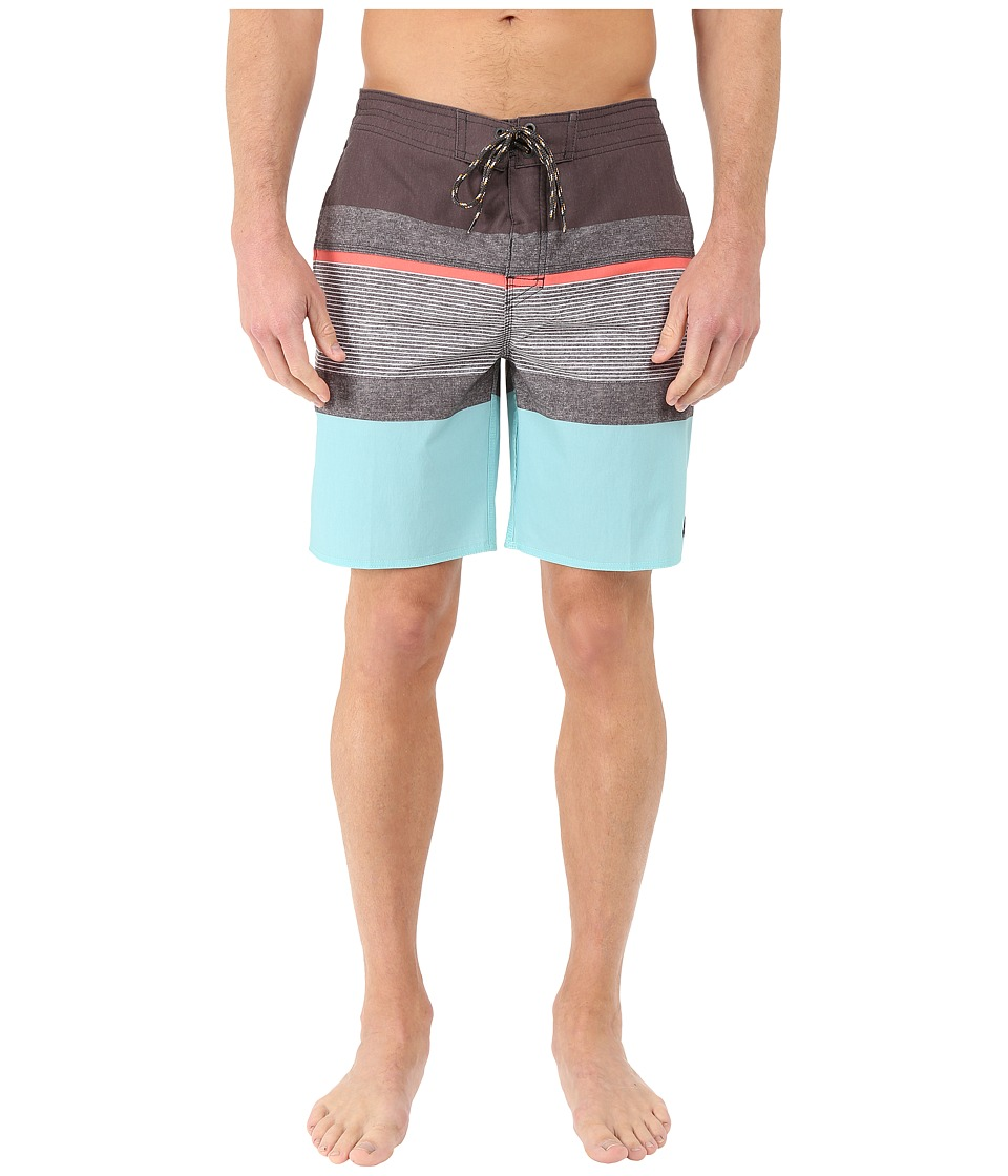 Rip Curl - Rapture Stripe Boardshorts (Light Blue) Men's Swimwear