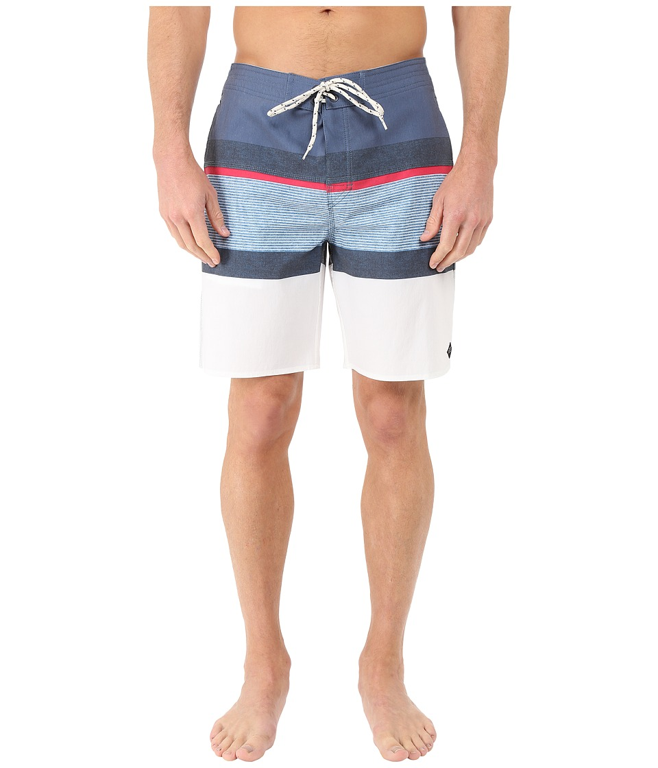Rip Curl - Rapture Stripe Boardshorts (Navy) Men's Swimwear