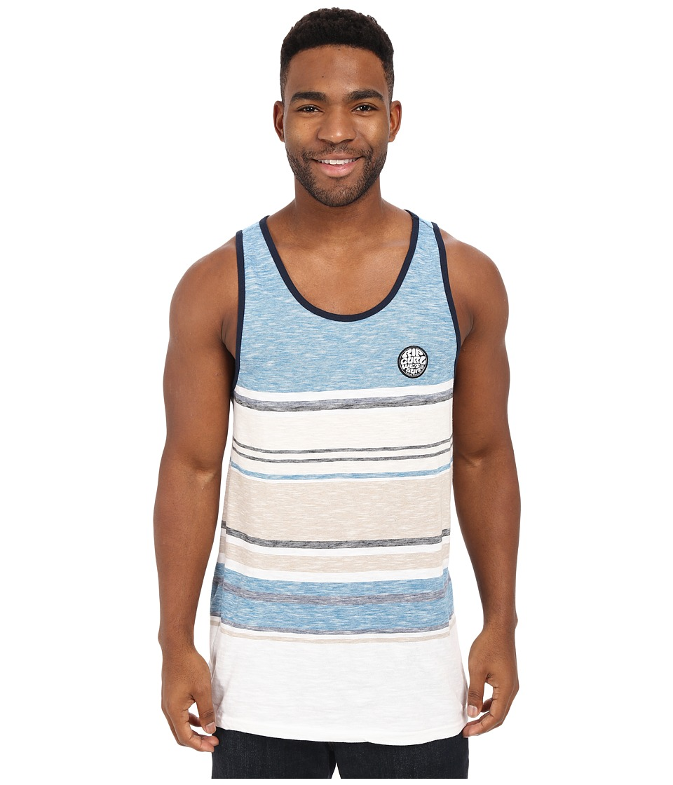 Rip Curl - Go Time Tank Top (Blue) Men's Sleeveless