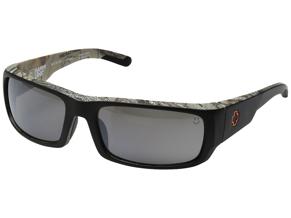 Spy Optic - Caliber (Decoy Xtra/Happy Bronze Polar w/ Black Mirror) Athletic Performance Sport Sunglasses