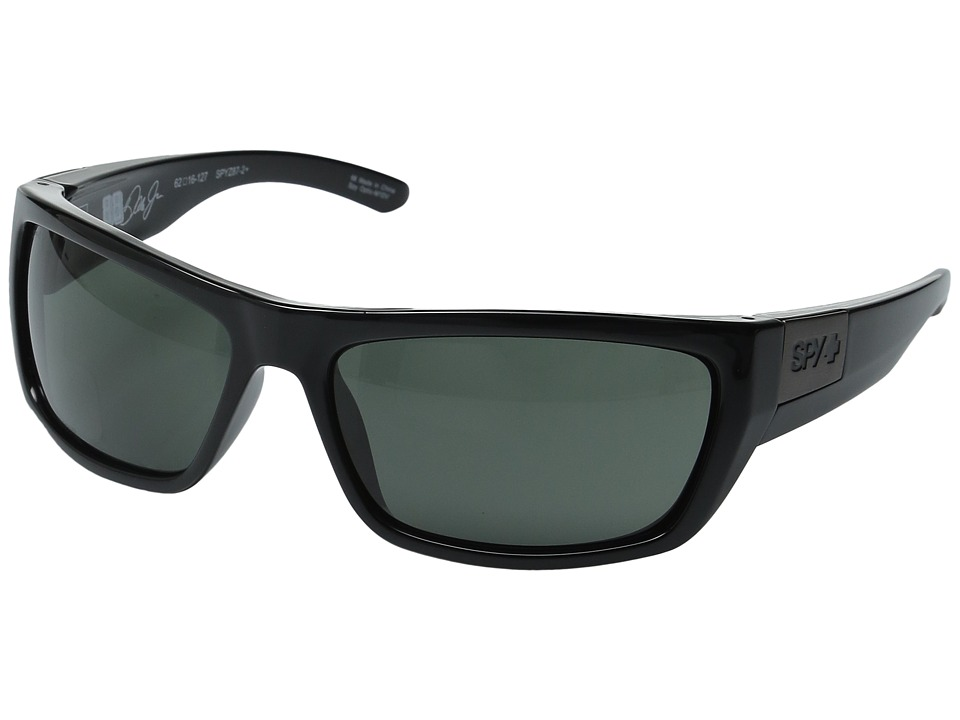 Spy Optic - Dega (Ansi Rx/Black/Happy Gray Green) Athletic Performance Sport Sunglasses