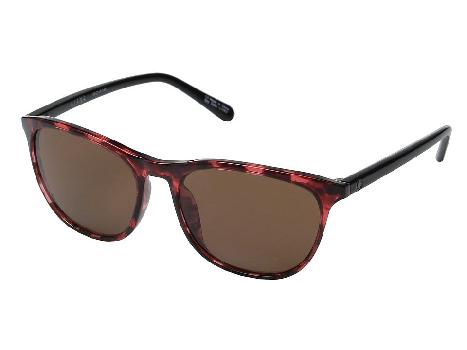Spy Optic - Cameo (Alana Red Tort/Black/Happy Bronze) Athletic Performance Sport Sunglasses
