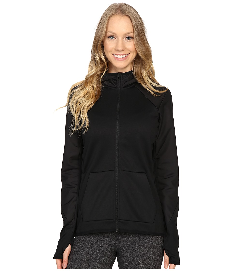 Nike - Therma Training Hoodie (Black/Black/Black/Black) Women's Sweatshirt