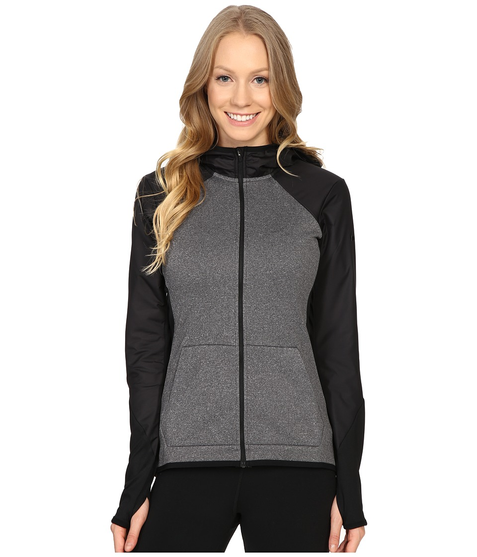 Nike - Therma Training Hoodie (Black/Heather/Black/Black) Women's Sweatshirt