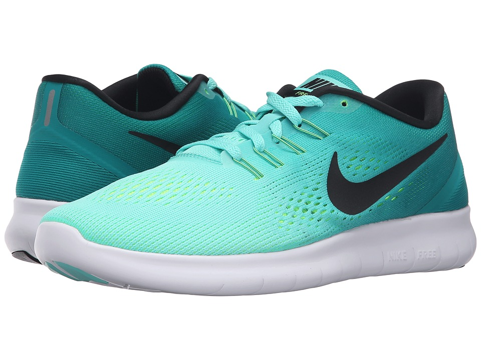 Nike - Free RN (Hyper Turquoise/Black/Rio Teal/Volt) Women's Running Shoes
