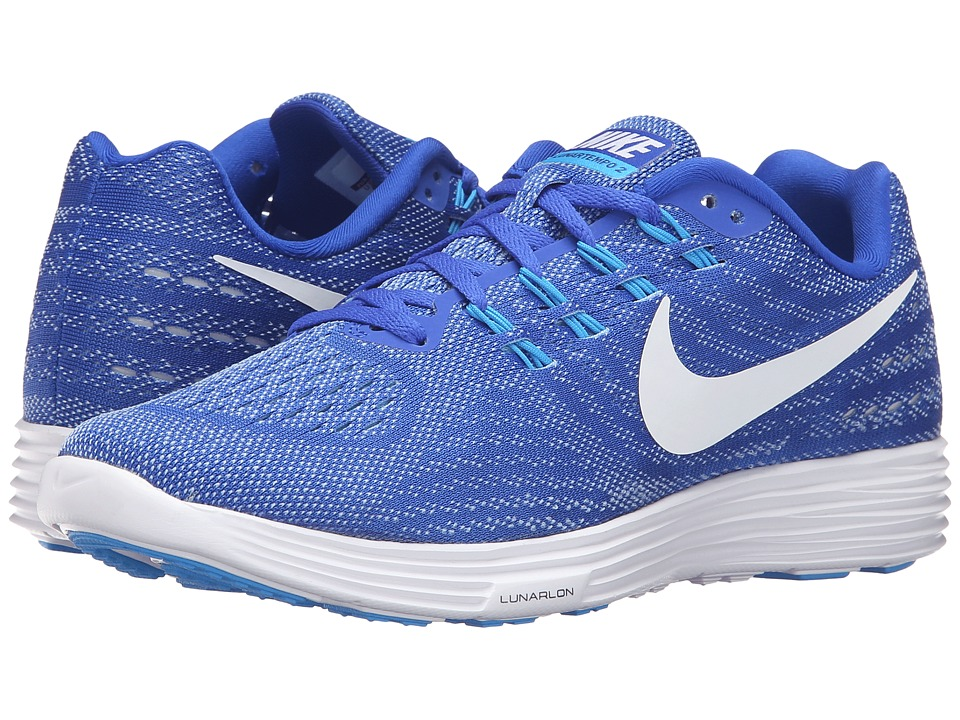 Nike - Lunartempo 2 (Racer Blue/White/Blue Cap/Blue Glow) Women's Running Shoes