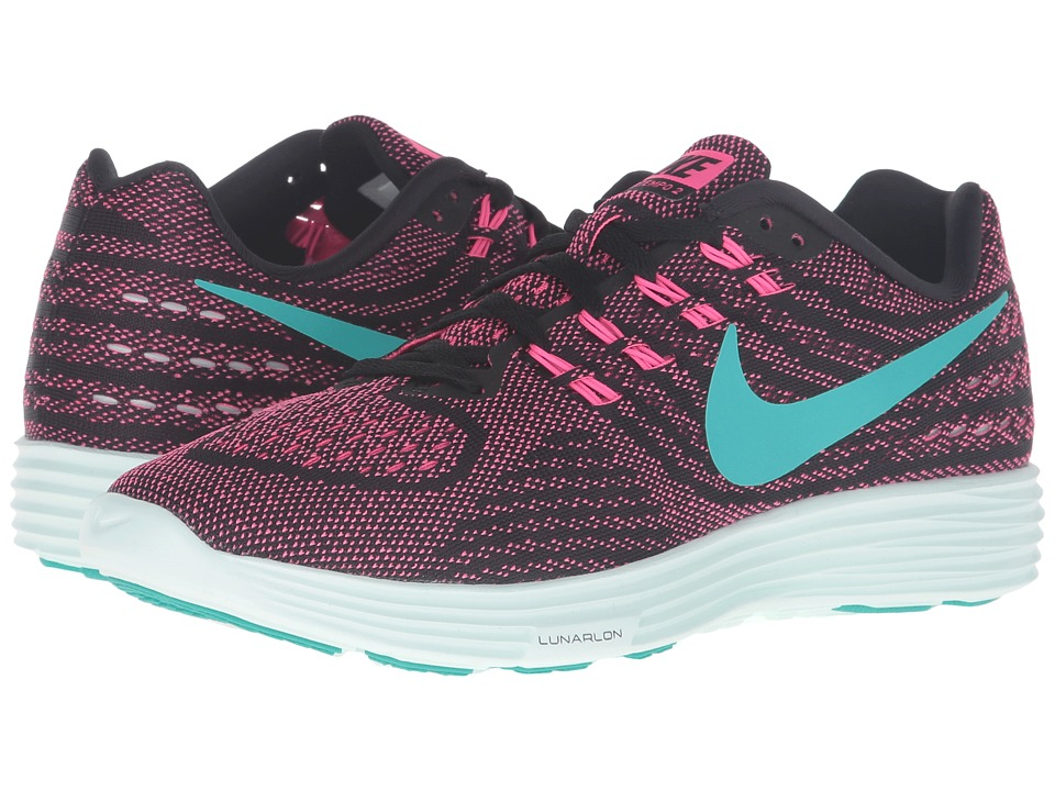 Nike - Lunartempo 2 (Pink Blast/Clear Jade/Black/Barley Green) Women's Running Shoes