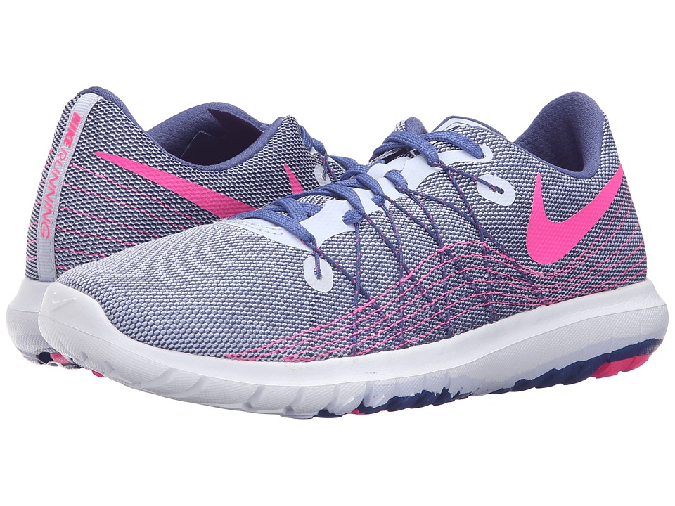 Nike - Flex Fury 2 (Palest Purple/Pink Blast/Dark Purple Dust) Women's Running Shoes