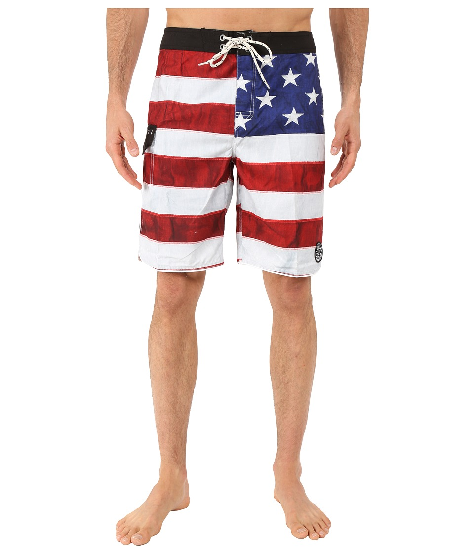 Rip Curl Old Glory Boardshorts (Red) Men