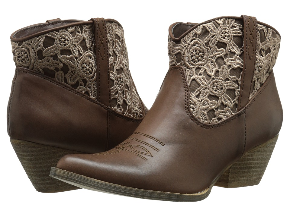VOLATILE - Libbylou (Brown) Women's Pull-on Boots