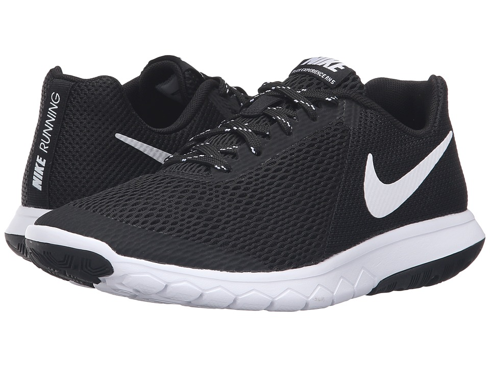 Nike - Flex Experience RN 5 (Black/White) Women's Running Shoes