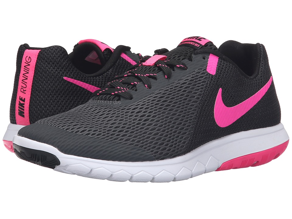 Nike - Flex Experience RN 5 (Anthracite/Pink Blast/Black/White) Women's Running Shoes