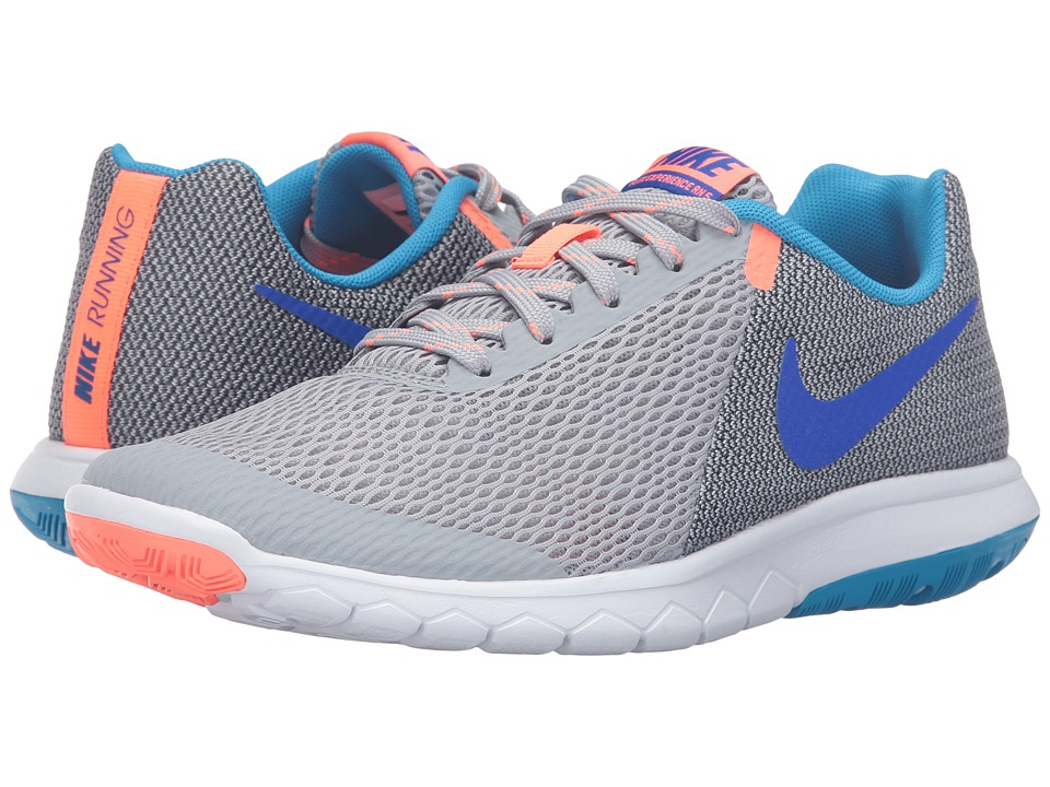 Nike - Flex Experience RN 5 (Wolf Gray/Racer Blue/Anthracite/Bright Mango) Women's Running Shoes