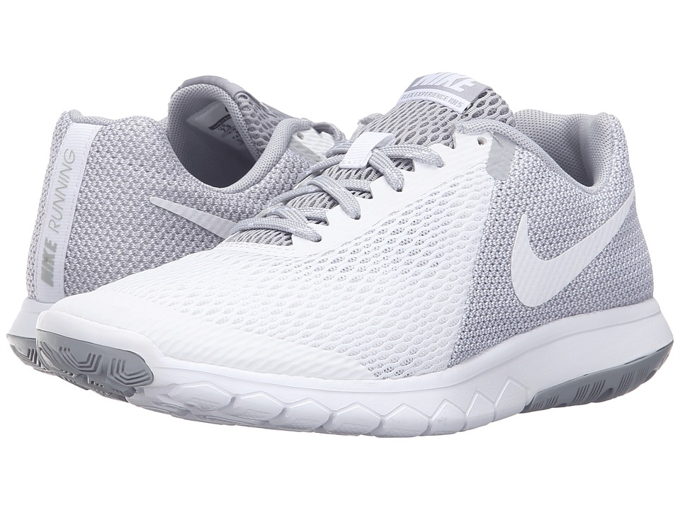 Nike - Flex Experience RN 5 (White/White/Wolf Grey) Women's Running Shoes