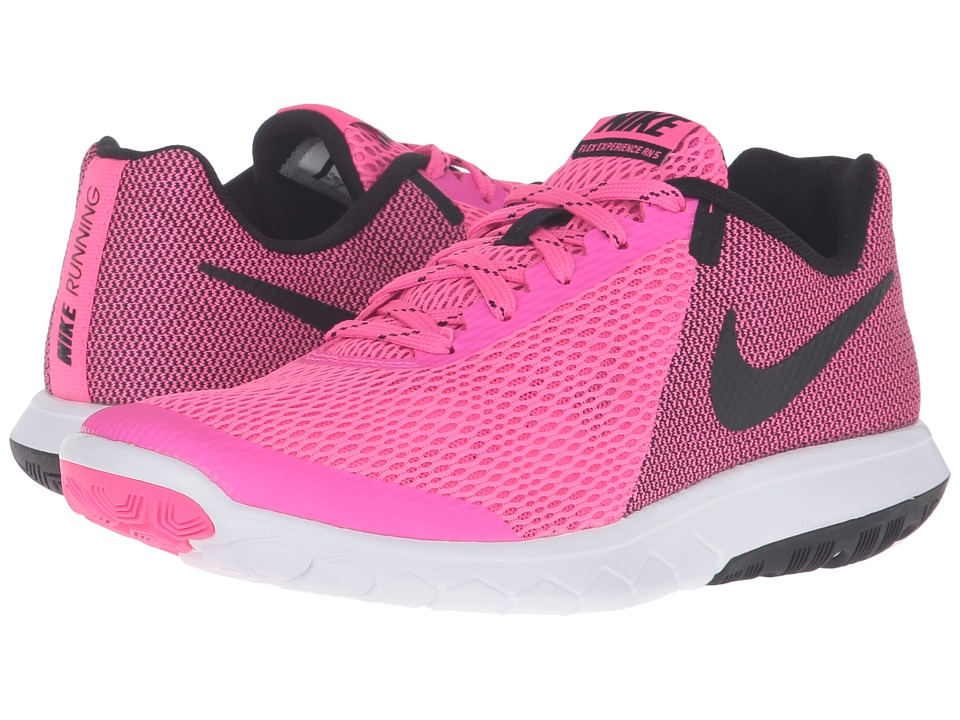 Nike - Flex Experience RN 5 (Pink Blast/Black/Black/White) Women's Running Shoes