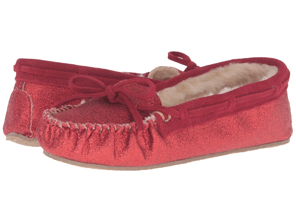 Minnetonka - Glitter Cally Slipper (Red) Women's Slippers