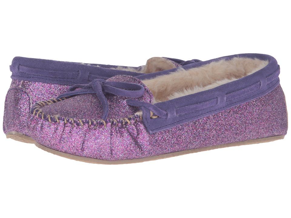 Minnetonka - Glitter Cally Slipper (Purple) Women's Slippers