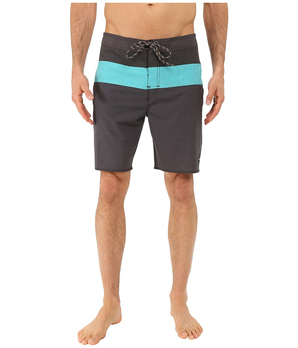 Rip Curl - Conway Boardshorts (Black) Men's Swimwear