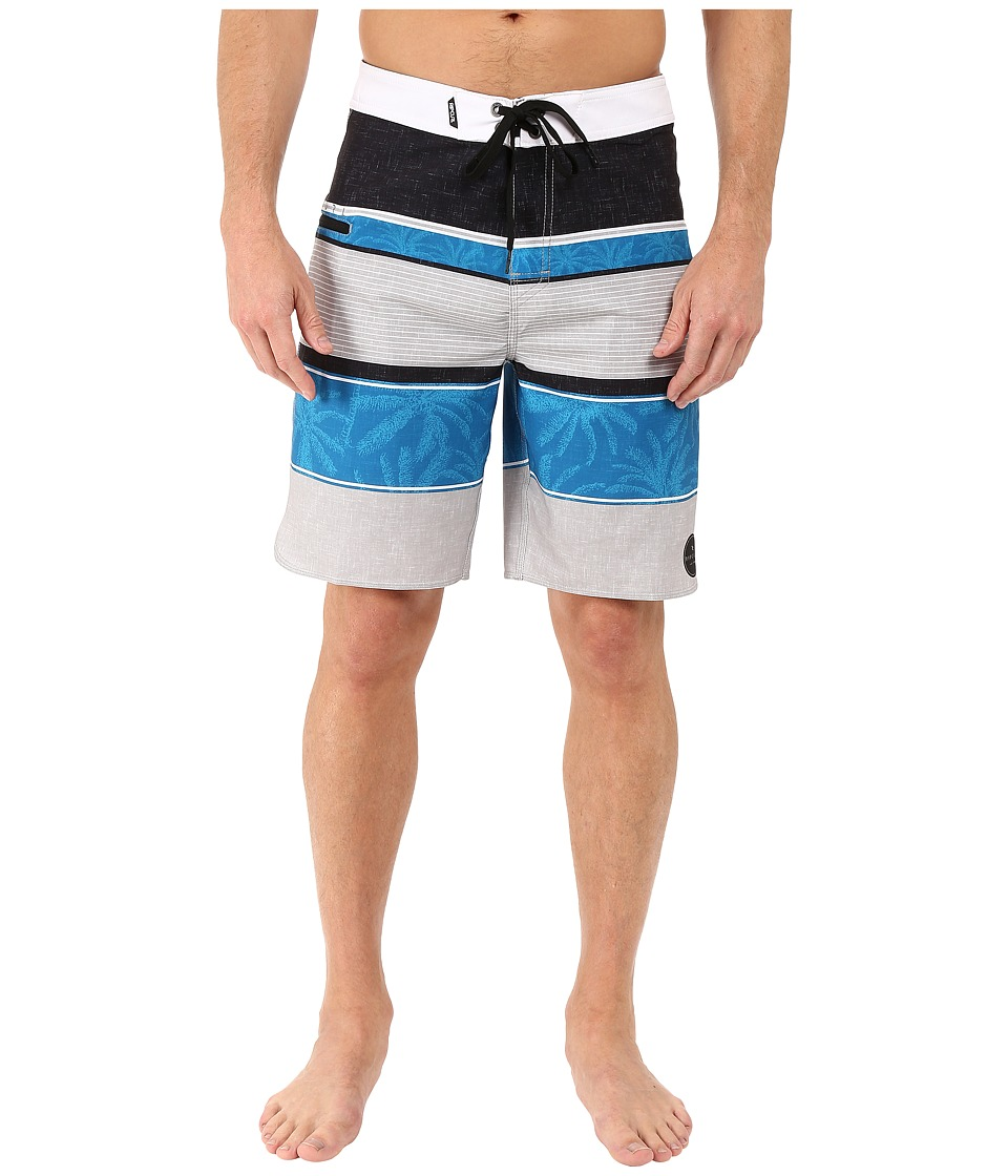 Rip Curl - Mirage Tides Boardshorts (Blue) Men's Swimwear
