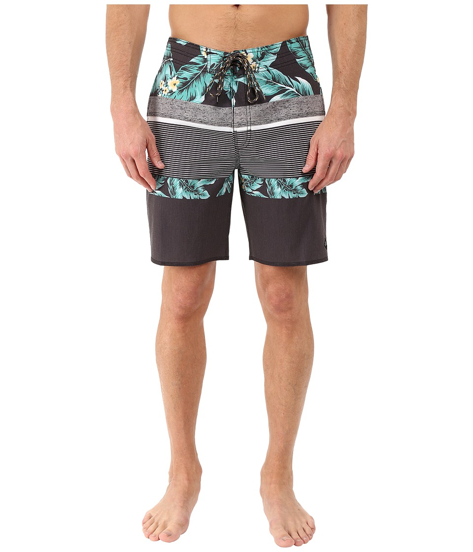 Rip Curl - Rapture Filler Boardshorts (Black) Men's Swimwear