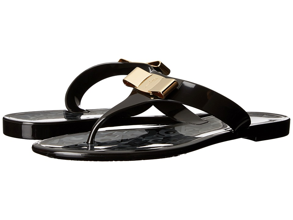 Salvatore Ferragamo - Farelia (Nero PVC) Women's Sandals