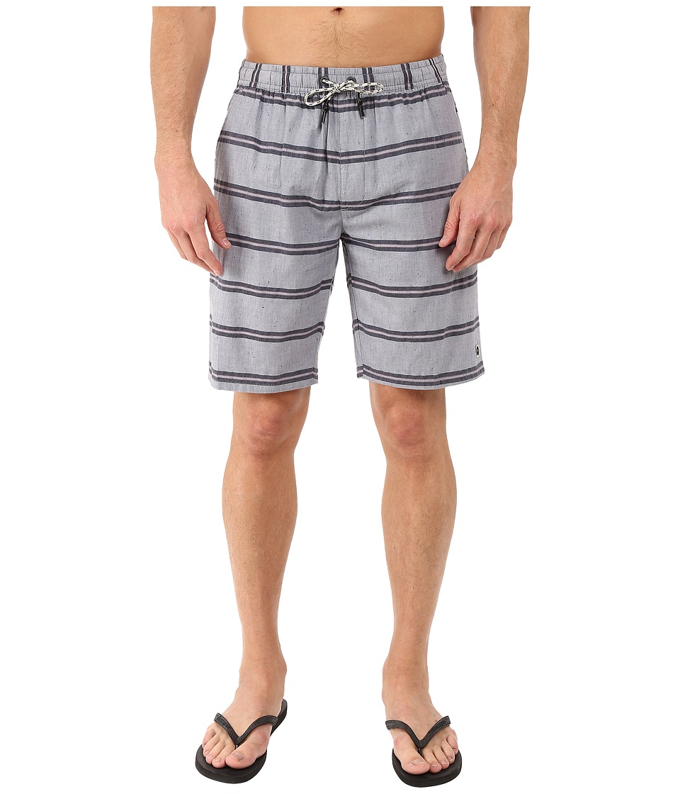 Rip Curl Shipwreck Walkshorts (Blue Grey) Men