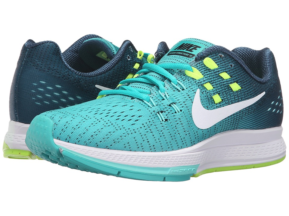 Nike - Air Zoom Structure 19 (Clear Jade/White/Mid Turquoise/Hyper Turquoise) Women's Running Shoes