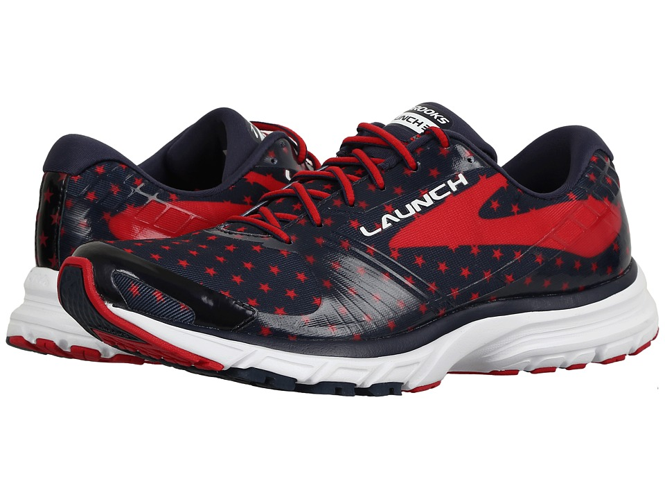 Brooks - Launch 3 (Peacoat Navy/True Red/White) Women's Running Shoes
