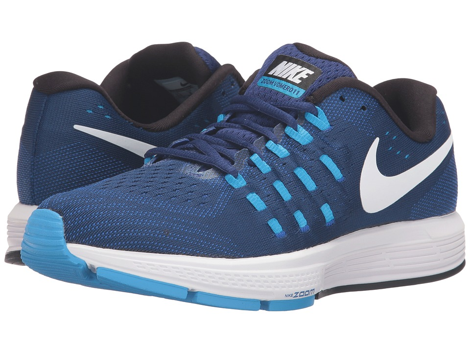 Nike - Air Zoom Vomero 11 (Deep Royal Royal Blue/White/Blue Glow/Black) Women's Running Shoes
