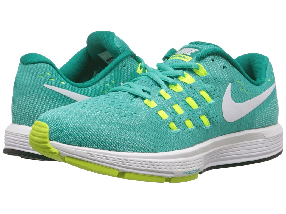 Nike - Air Zoom Vomero 11 (Clear Jade/White/Volt/Rio Teal) Women's Running Shoes
