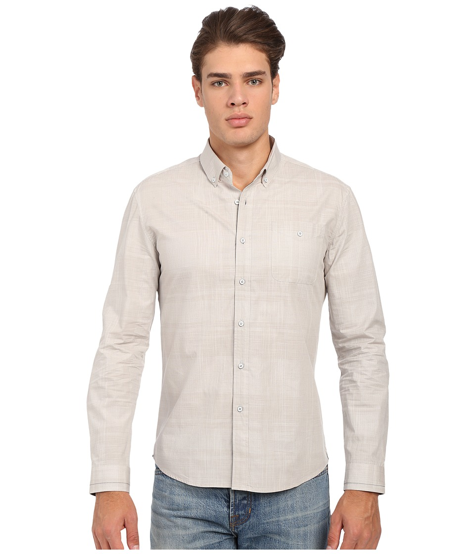 Image of 7 Diamonds - All For You Long Sleeve Shirt (Tan) Men's Long Sleeve Button Up