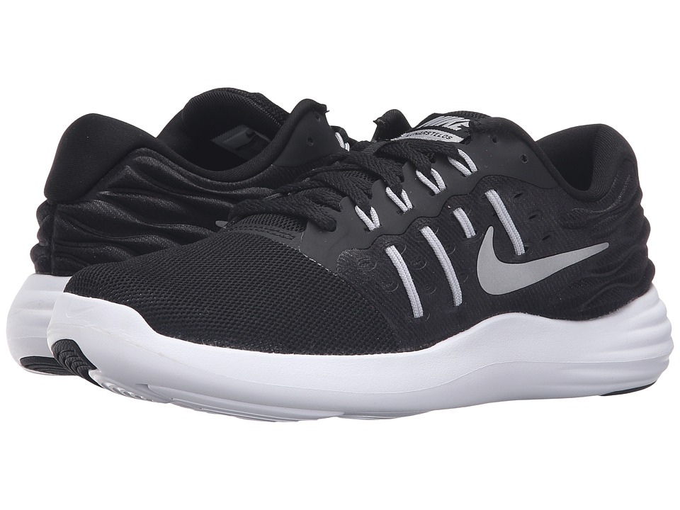 Nike - Lunarstelos (Black/Metallic Silver/Anthracite/White) Women's Running Shoes