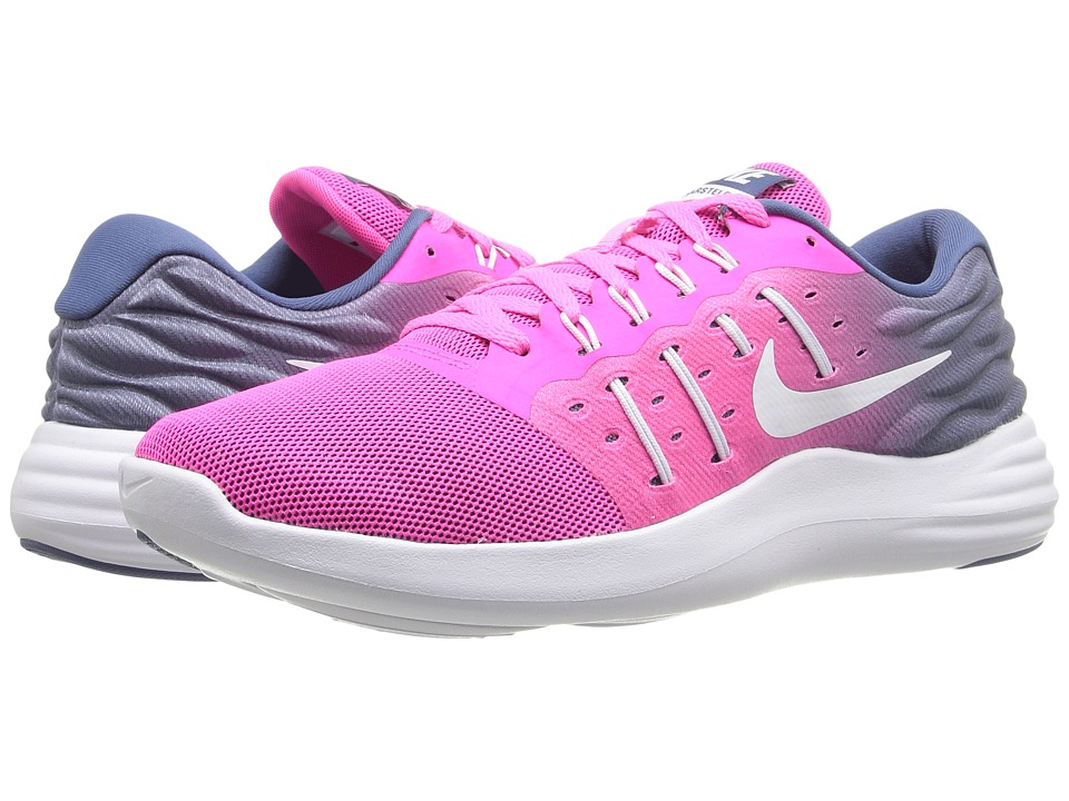 Nike - Lunarstelos (Pink Blast/White/Ocean Fog) Women's Running Shoes