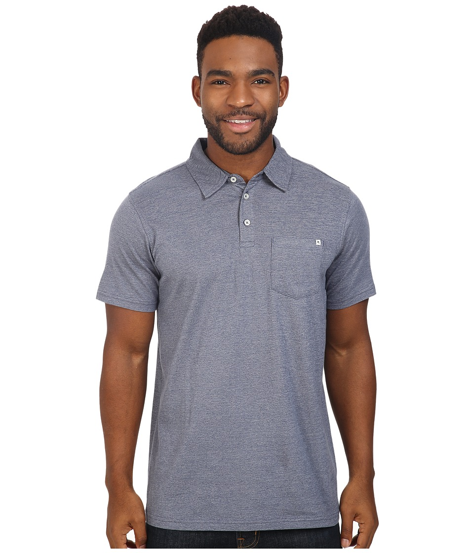 Rip Curl - Fairway Polo (Blue) Men's Clothing