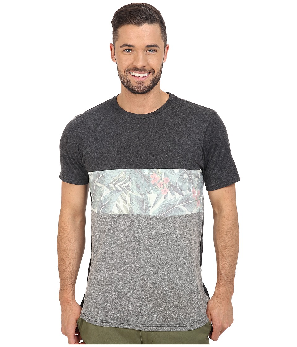 Rip Curl - Sanctum Blocked Custom Tee (Black) Men's T Shirt