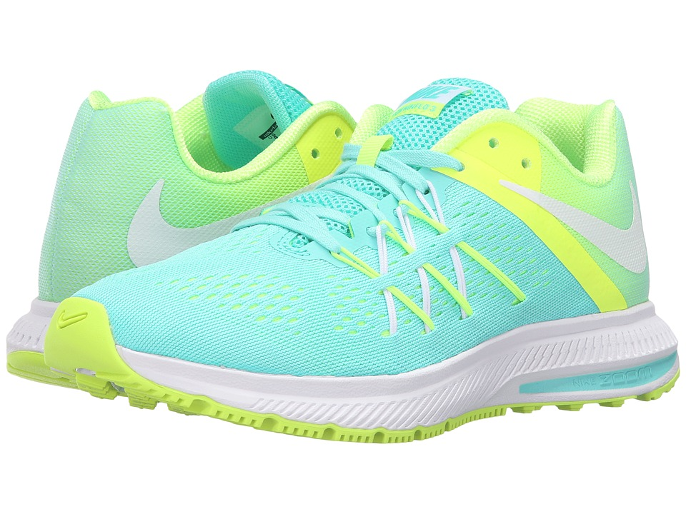 Nike - Zoom Winflo 3 (Hyper Turquoise/White/Volt/White) Women's Running Shoes