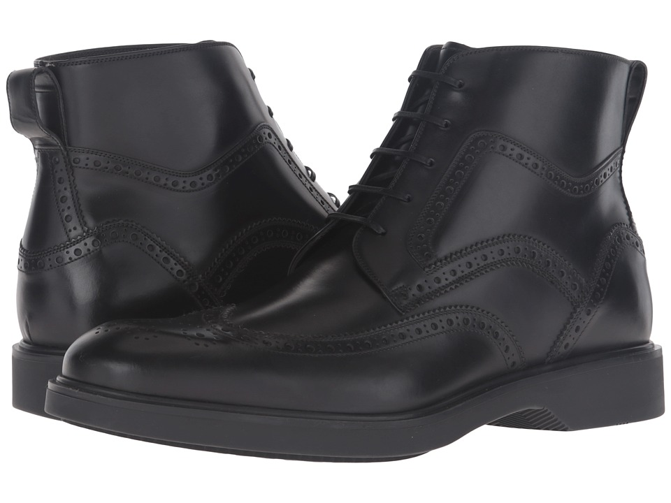 Salvatore Ferragamo - Gaiano Boot (Nero) Men's Boots
