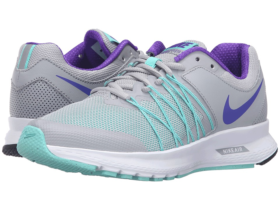 Nike - Air Relentless 6 (Wolf Gray/Fierce Purple/Hyper Turquoise/White) Women's Running Shoes