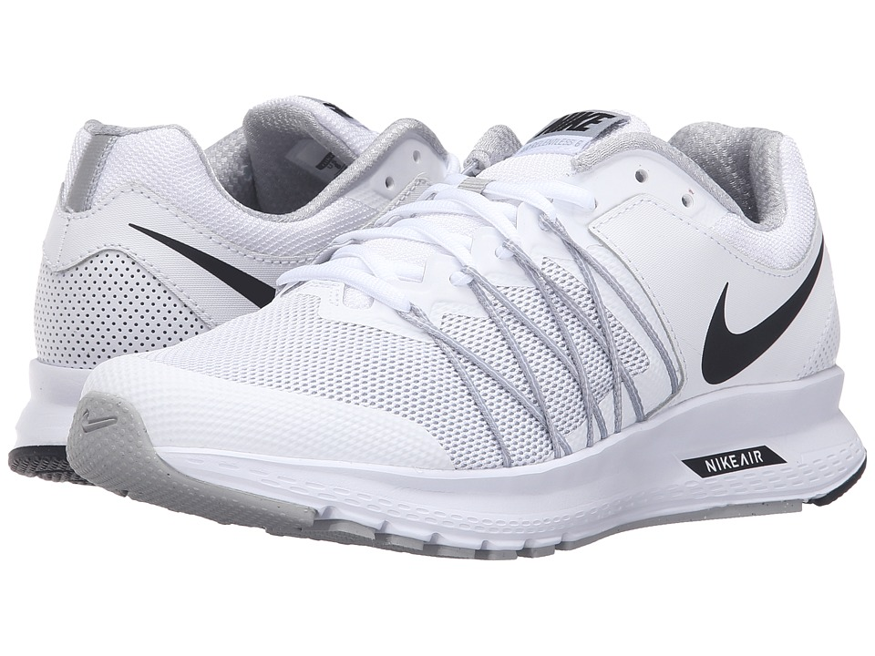 Nike - Air Relentless 6 (White/Black/Wolf Grey) Women's Running Shoes