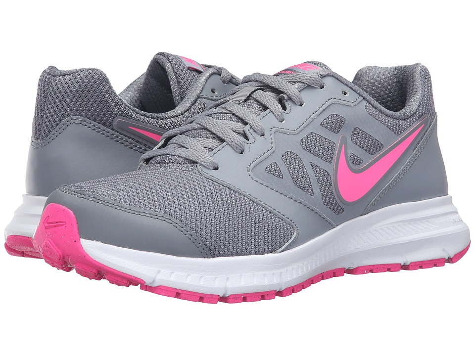 Nike - Downshifter 6 (Stealth/Pink Blast/Cool Gray/White) Women's Running Shoes