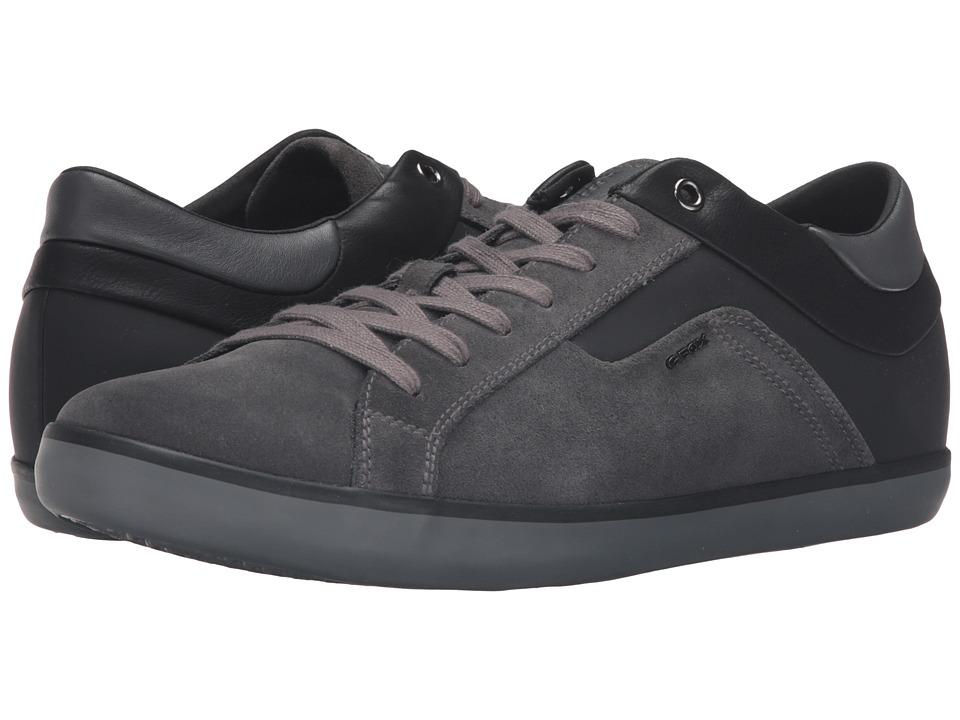 Geox - MBOX23 (Dark Grey/Black) Men's Shoes